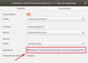 Rendre un fichier exécutable sur Ubuntu par GUI