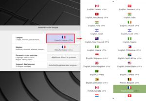 Changer la langue de Linux Mint