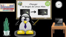 Comment changer la régionalisation ou la langue de Linux Mint ?