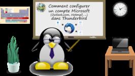 Comment configurer Outlook.com ou Hotmail dans Thunderbird