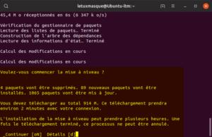 Mettre à niveau vers Ubuntu 19.10 en ligne de commande - Démarrage