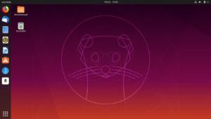 Ubuntu 19.10 Eoan Ermine après mise à niveau