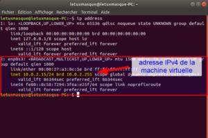 ip address Linux