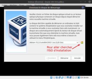Installation de la Virtualbox Debian