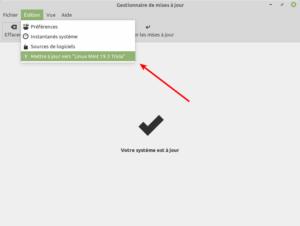 mise à niveau vers Linux Mint 19.3 Tricia
