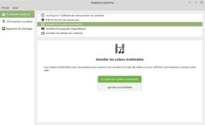 Rapports système Linux Mint 19.3