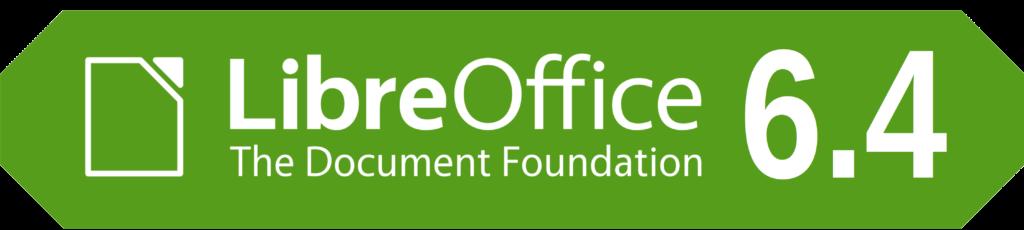 LibreOffice 6.4 Bannière