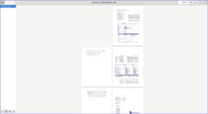 Export PDF habituel