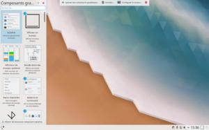 Personnaliser la disposition dans KDE Plasma 5.18