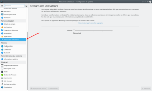Retours des utilisateurs dans KDE Plasma 5.18