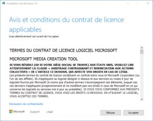 clé USB bootable installation Windows 10 - 0 - licence