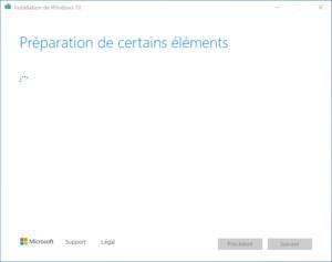 clé USB bootable installation Windows 10 - 1 - preparation