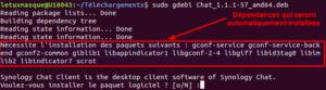 gdebi - installer fichier deb avec dépendances