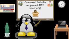 Comment installer un logiciel depuis un fichier DEB ?