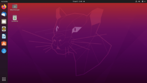 bureau Ubuntu 20.04 LTS