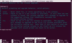 fichier release-upgrades dans Ubuntu 19.10