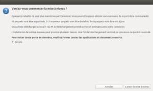 lancer la mise à niveau vers Ubuntu 20.04 LTS