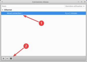 connexion réseau variantes Ubuntu