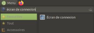 écran de connexion Ubuntu Mate