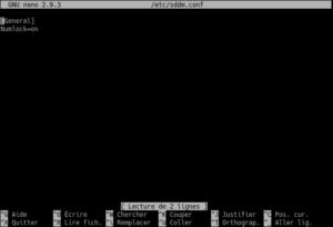sddm-conf modifié dans kubuntu