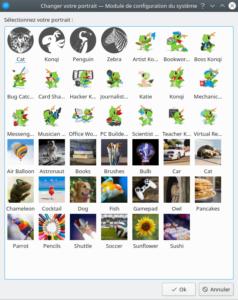 avatars disponible dans KDE Plasma 5.19