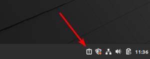 Linux Mint 20 - notification relevés système