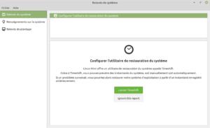 Linux Mint 20 - relevés système