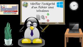 Vérifier l'intégrité d'un fichier sous Windows