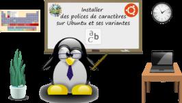 Installer des polices de caractères sur Ubuntu