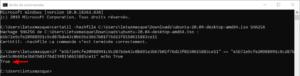 Vérifier l'intégrité d'un fichier sous Windows : comparaison d'empreinte dans CMD