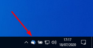 Thunderbird dans barre notification