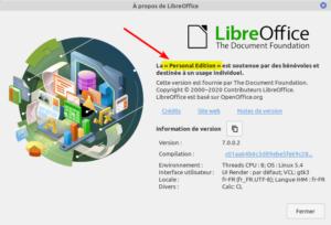 a propos LibreOffice 7 RC1