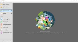 Accueil LibreOffice 7.0 sous Windows