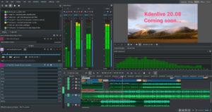 layout audio kdenlive
