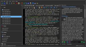 Mode nuit de l'éditeur Calibre 5.0