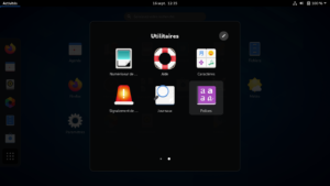 Dossier applications Gnome 3.38