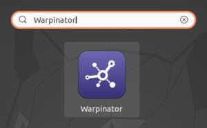 lanceur warpinator