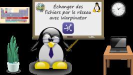 Échanger des fichiers par le réseau sous Linux avec Warpinator