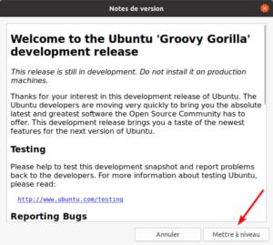 Notes de version de Ubuntu 20.10