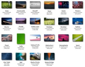 """Fonds d'écran inclus dans Linux Mint 20.1 """"Ulyssa"""""""