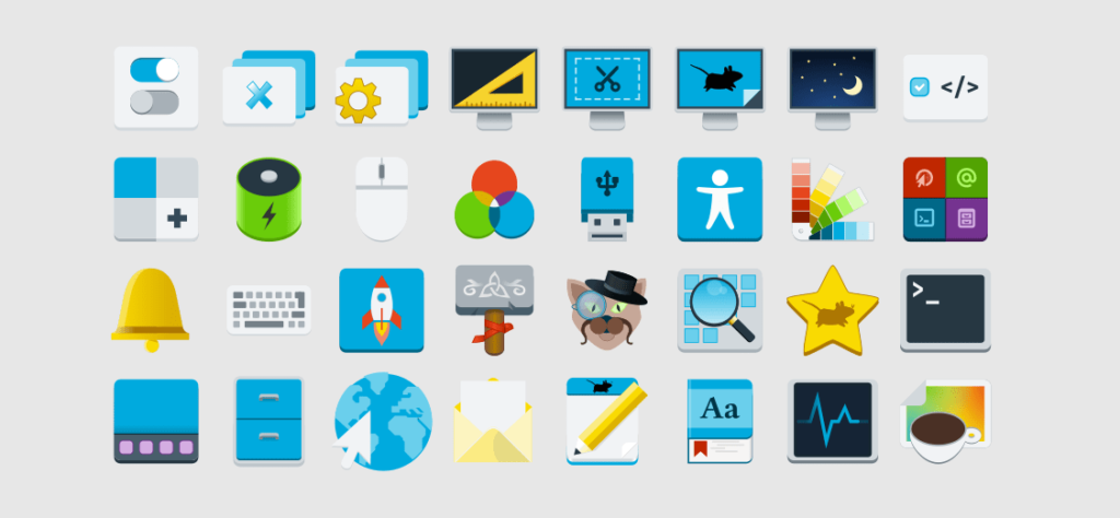 Nouvelles icône Xfce 4.16