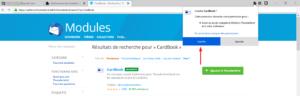 Installer CardBook dans Thunderbird
