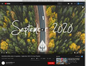 Web app Youtube dans Linux Mint 20.1
