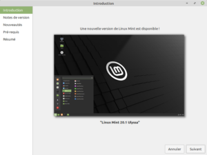 1 - Mise à jour vers Linux Mint 20.1 - Introduction