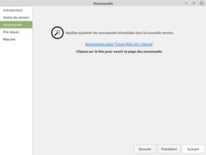3 - Mise à jour vers Linux Mint 20.1 - Nouveautés