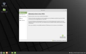 Bienvenue dans Linux Mint 20.1