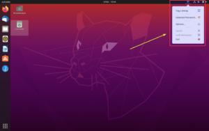 Keepass dans la zone de notification de Ubuntu 20.04
