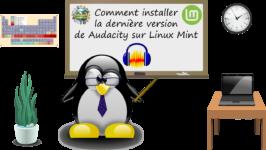 Comment installer la dernière version de Audacity sur Linux Mint