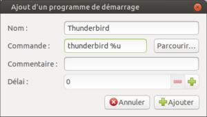 Ajout d'applications au démarrage de Ubuntu Mate