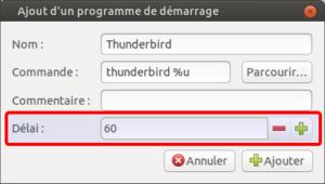 Ajout d'une application au démarrage avec delai sur Ubuntu Mate 20.04